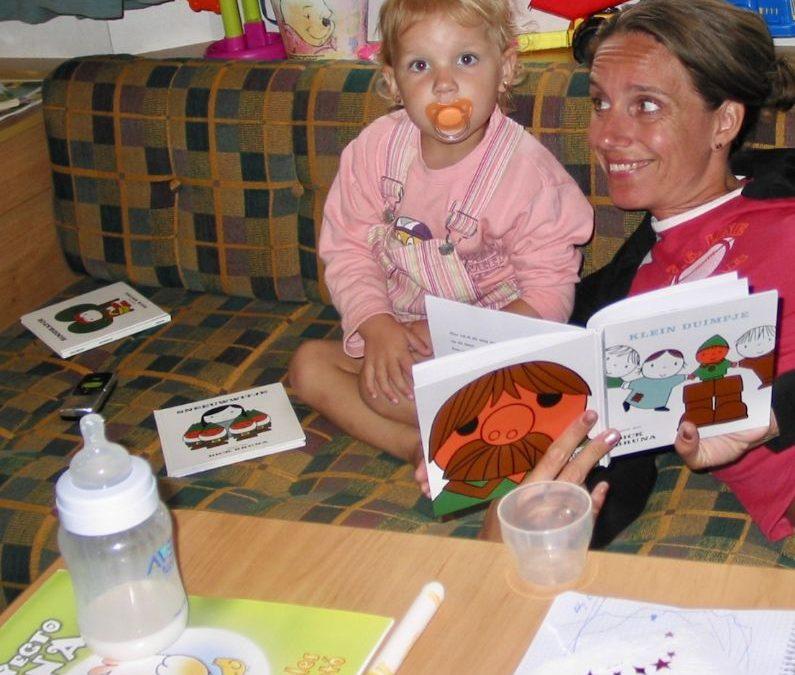 Schrijven en lezen in het Nederlands om het Nederlands op peil te houden in het buitenland