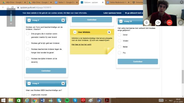 NT2 online voor middelbare school kinderen