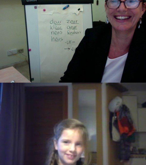 Online leren via Skype: Online Nederlands leren werkt!