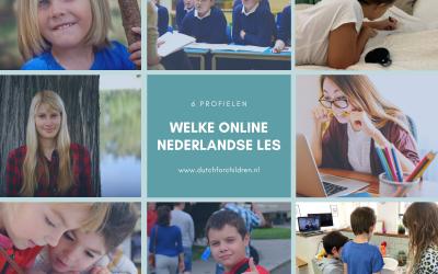 Welke online Nederlandse les past het beste bij jouw kind?